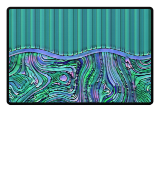 ♥ Abstract Art Formulation Stripes IV