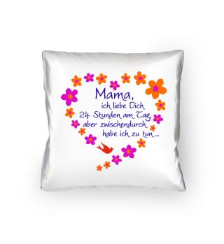 ★ Mama Ich Liebe Dich - Blüten Herz 2 ★