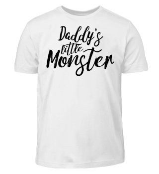Daddy's little Monster - black