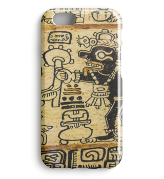 Azteken Hieroglyphen Muster Case 2