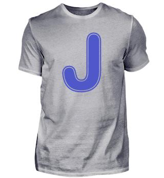 Alphabet - Letter - J