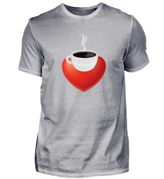 Ich liebe Kaffee - Kaffee mit Herz