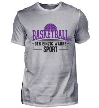 Basketball Basketballfan Fanshirt Spruch