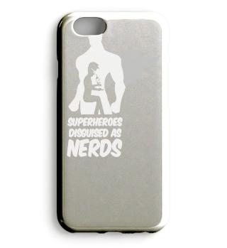 Superheroes Disguised as Nerds Shirt Tee