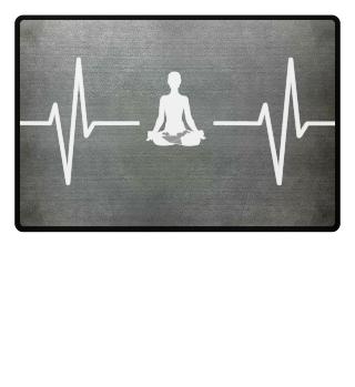 Mein Herz schlägt für Yoga! Geschenk