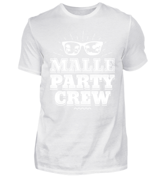 Malle Mallorca Party Shirt Party Crew