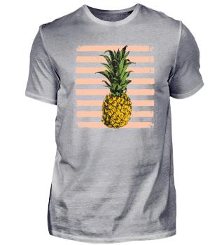 T-Shirt Sweet Yellow Ananas