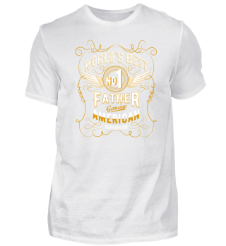 Father Dad Tshirt Vatertag Present