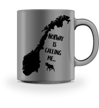 Norwegen Fan Spruch Geschenk Tasse