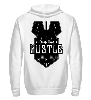 Herren Zip Hoodie Sweatshirt Drop That Hustle Ramirez