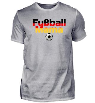 Fussball Mama Deutschland Fanshirt 2018