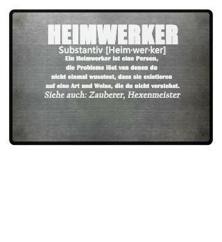 Heimwerker Definition