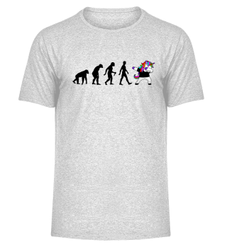 Evolution Of Humans - Dabbing Unicorn 1