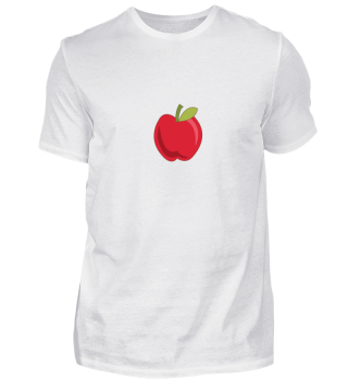 Vegetarier Shirt - Apfel