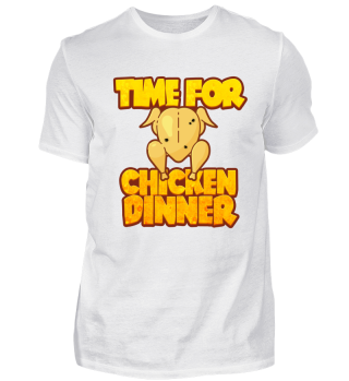 TIME FOR CHICKEN DINNGER FPS SHIRT
