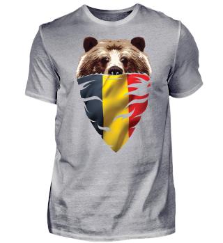 BEAR Vintage Patriot Belgien