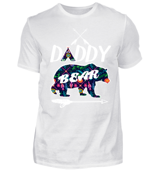 Daddy Bear Shirt Family Camping