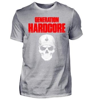 GENERATION HARDCORE - Techno, skull