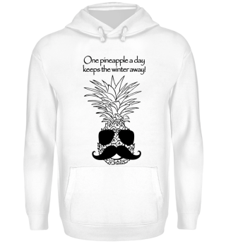 WINTER AWAY PINEAPPLE GESCHENK ANANAS