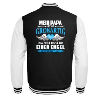Kinder Shirt - Mein Papa ist großartig