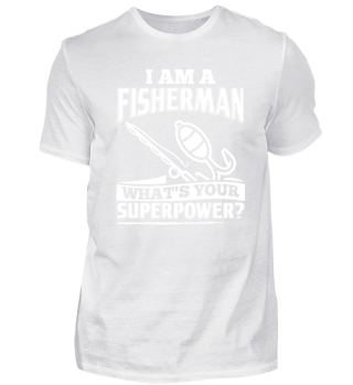 Funny Fishing Shirt I Am A