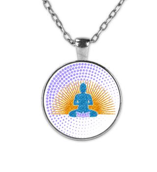 Buddha Sun Lotos Dots Mandala