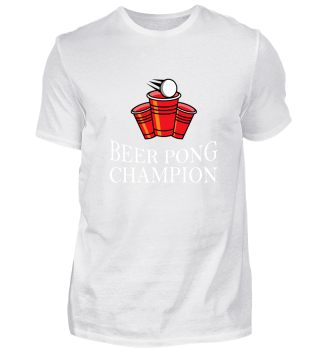 + Beer Pong Champion Shirt