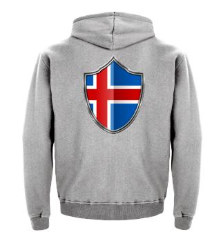 Island-Iceland Wappen Flagge 015