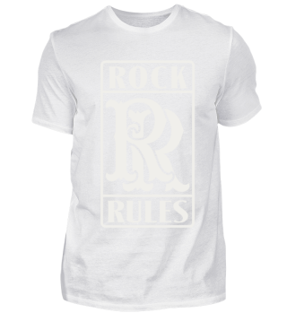 Rock Music T-Shirt Rock Rules