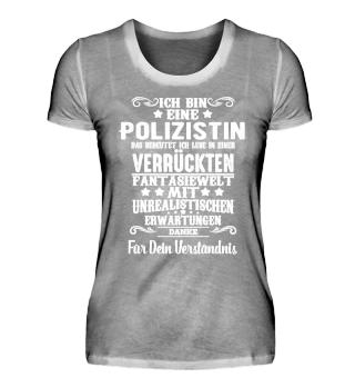 Ich bin eine Polizistin
