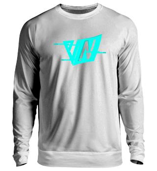 NeruxVace Sweatshirt Logo blau