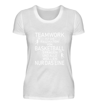 Basketball Shirt - Teamwork