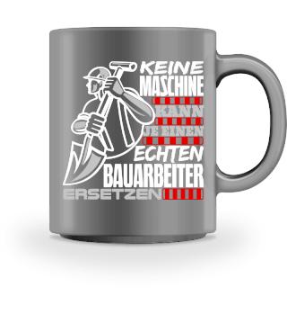 Bauarbeiter Maschine - Tasse