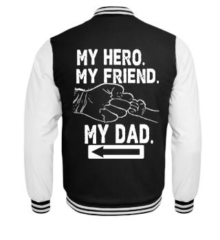 Sohn und Papa Familien Jacke Shirt