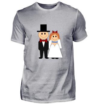 Bräutigam und Braut Geschenk Idee