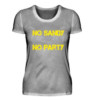 No Sandy No Party
