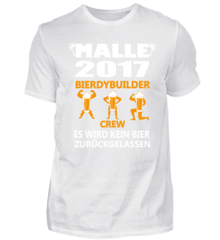 Bierdybuilder Bier Malle JGA 2017 Saufen