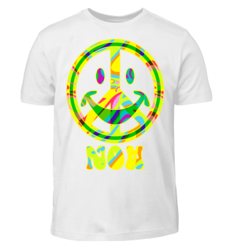 ☮ Flower Power Smiley Peace NOW I