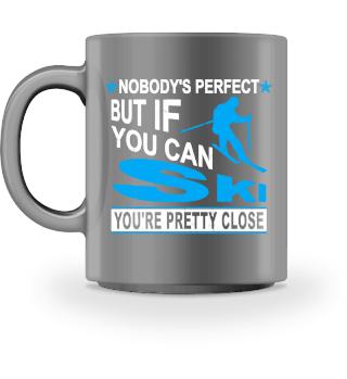 Ski Nobody is perfect