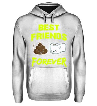 Geschenk kacken best friends forever