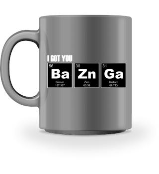 Chemical Elements - got BaZnGa - white 3