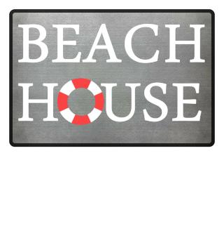 Beach House Fußmatte Geschenk