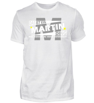 MARTIN DING | Namenshirts
