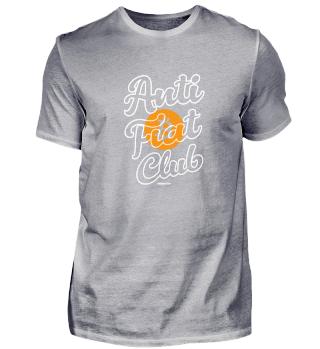 Anti Fiat Club Bitcoin Neon weiß