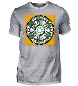 Native American art style