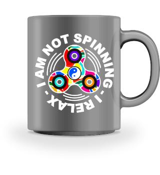 Fidget Spinner - Spinning Relax - white