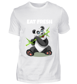 Eat Fresh Panda Bär Unisex