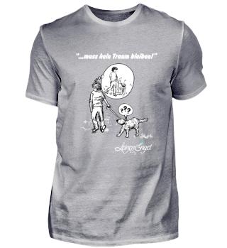 Herren T Shirts - Weisse Schrift