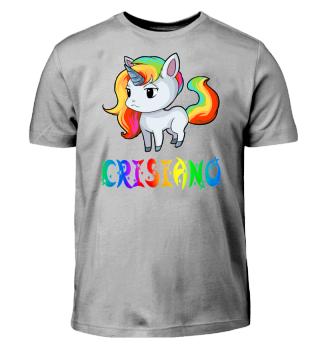 Crisiano Unicorn Kids T-Shirt