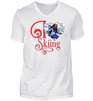 ☛ I LOVE SKIING #1R